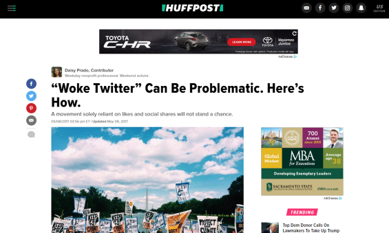woke twitter huffpost